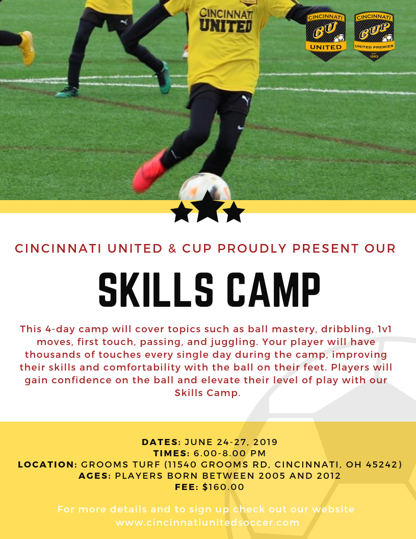 Camp Series | Cincinnati United Soccer Club
