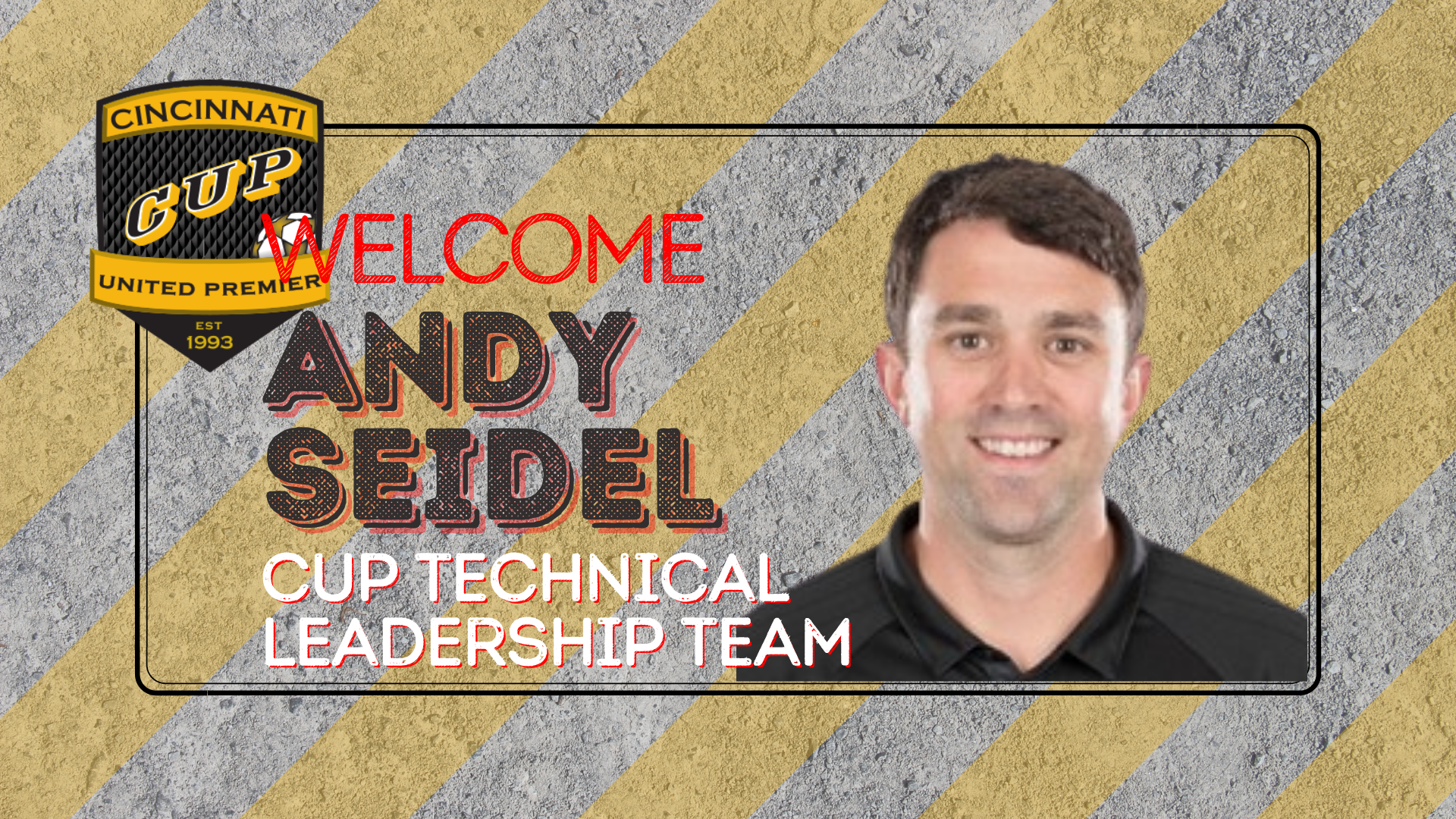 Andy Seidel Hired to CUP Technical Leadership Team