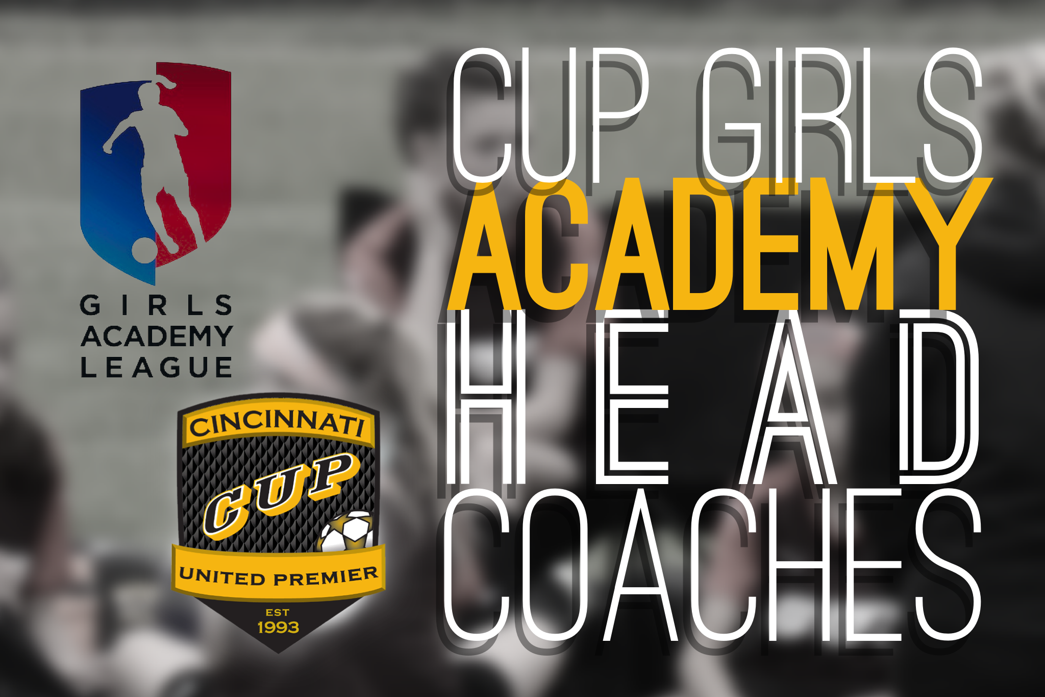 CU Announces CUP Girls Academy Head Coaches