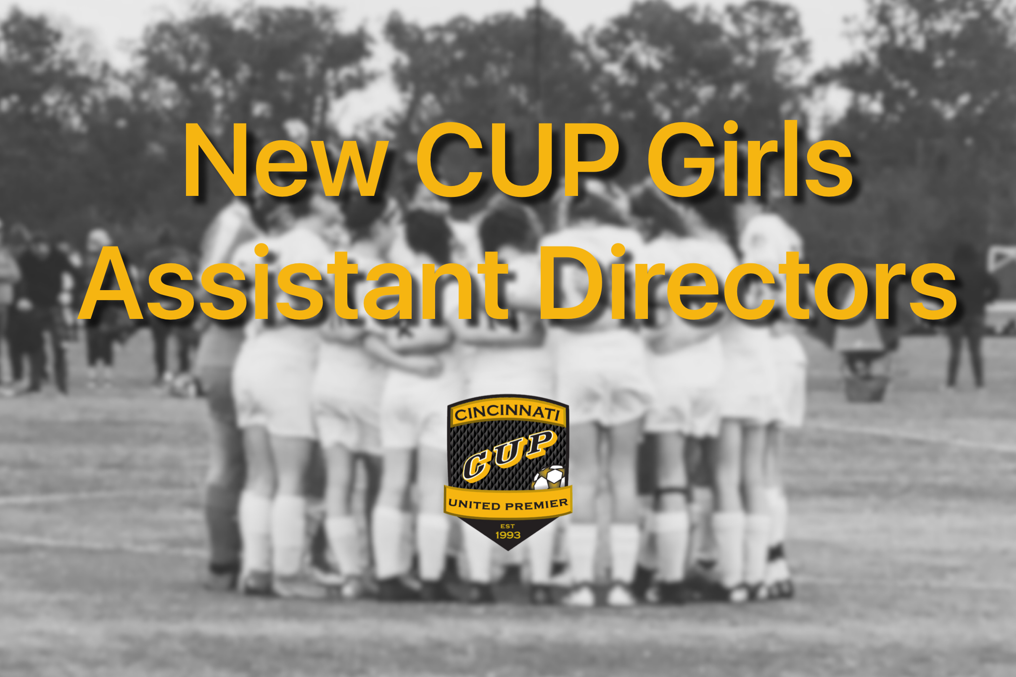 CU Introduces New CUP Girls Assistant Directors