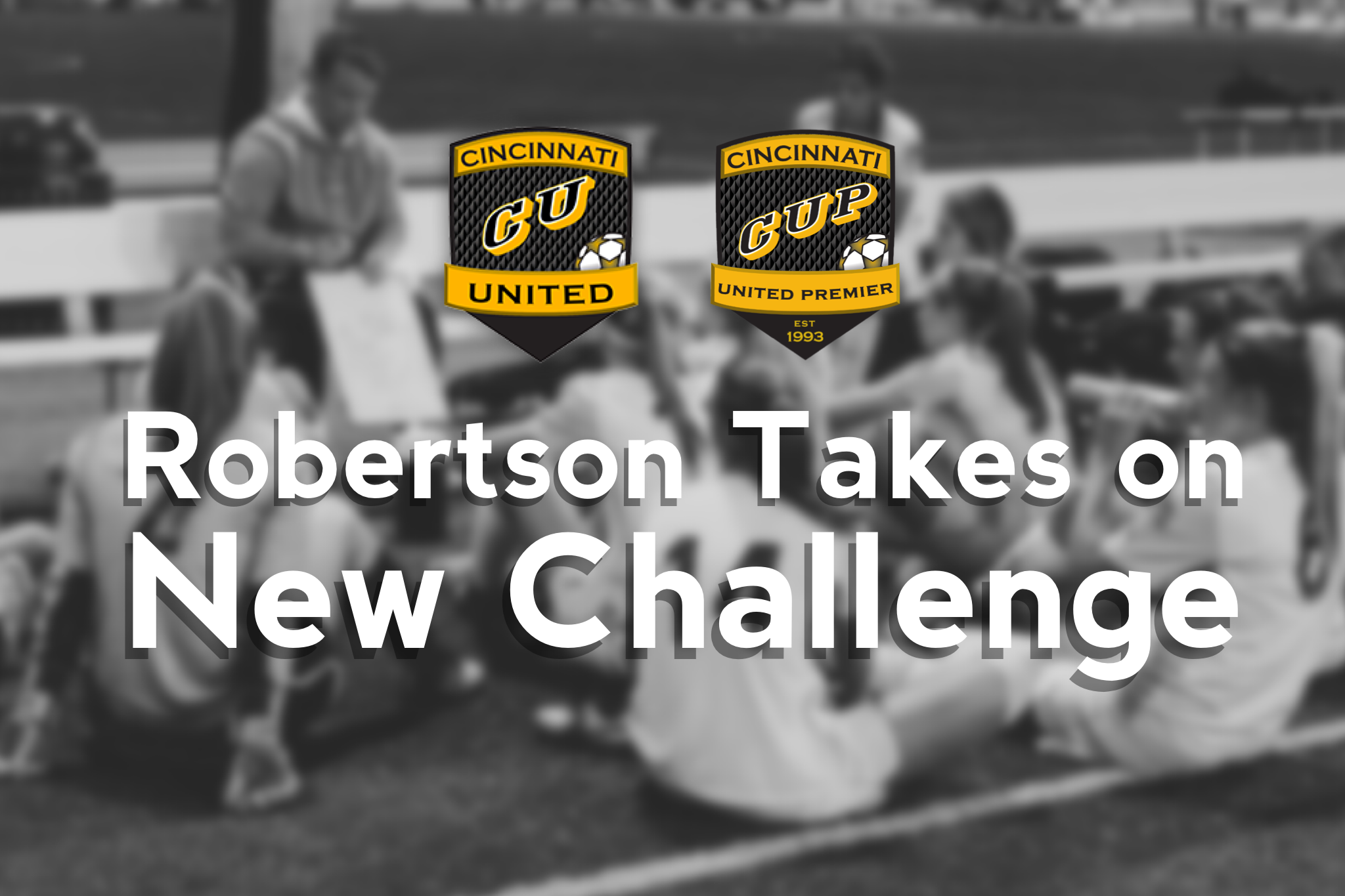Robertson Takes On New Challenge