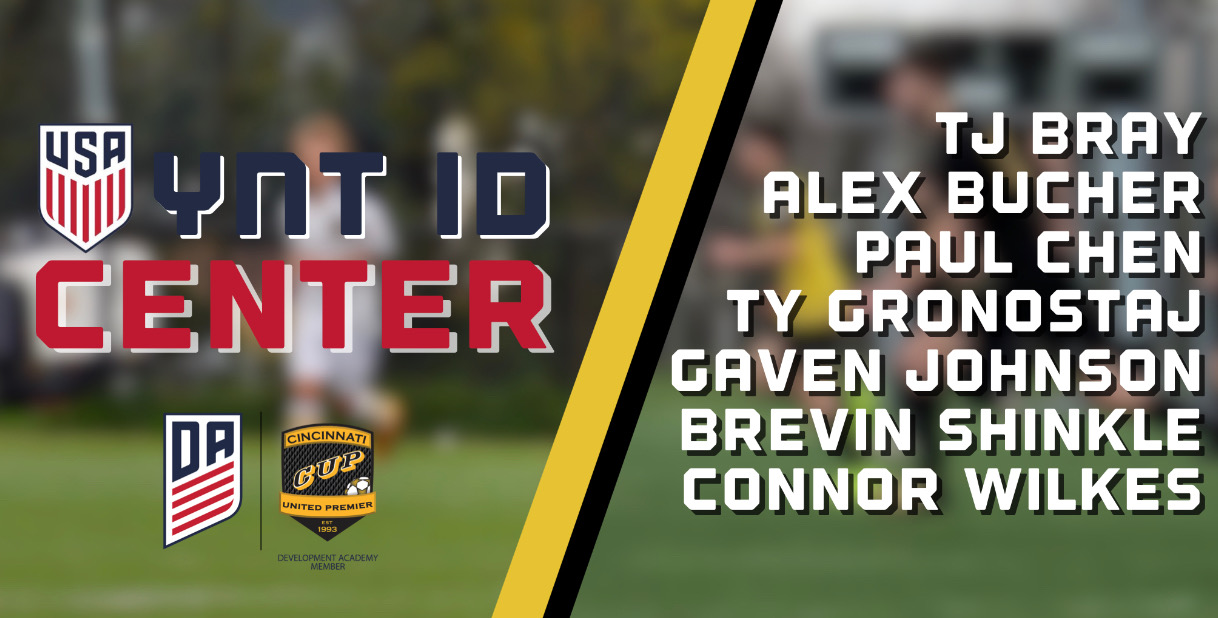 Seven CUP DA Players Invited to YNT ID Center