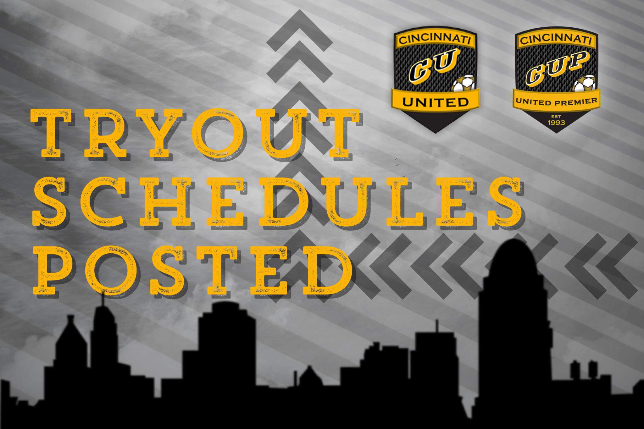 Tryout Schedules Available Now!