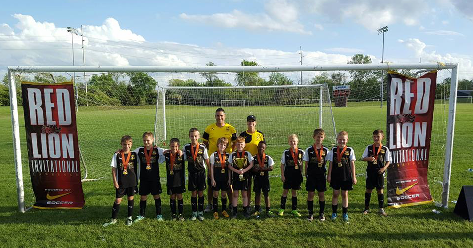 U10 Dortmund crowned champions at FC Pride Red Lion Invitational