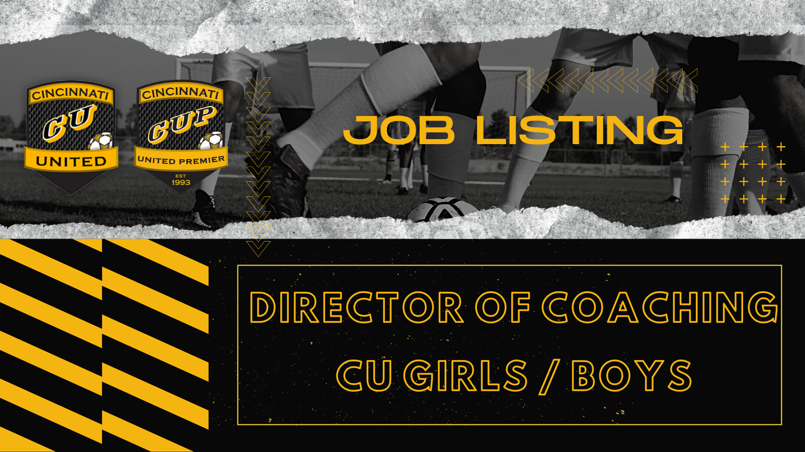 Job Listing: Director of Coaching CU Girls / Boys