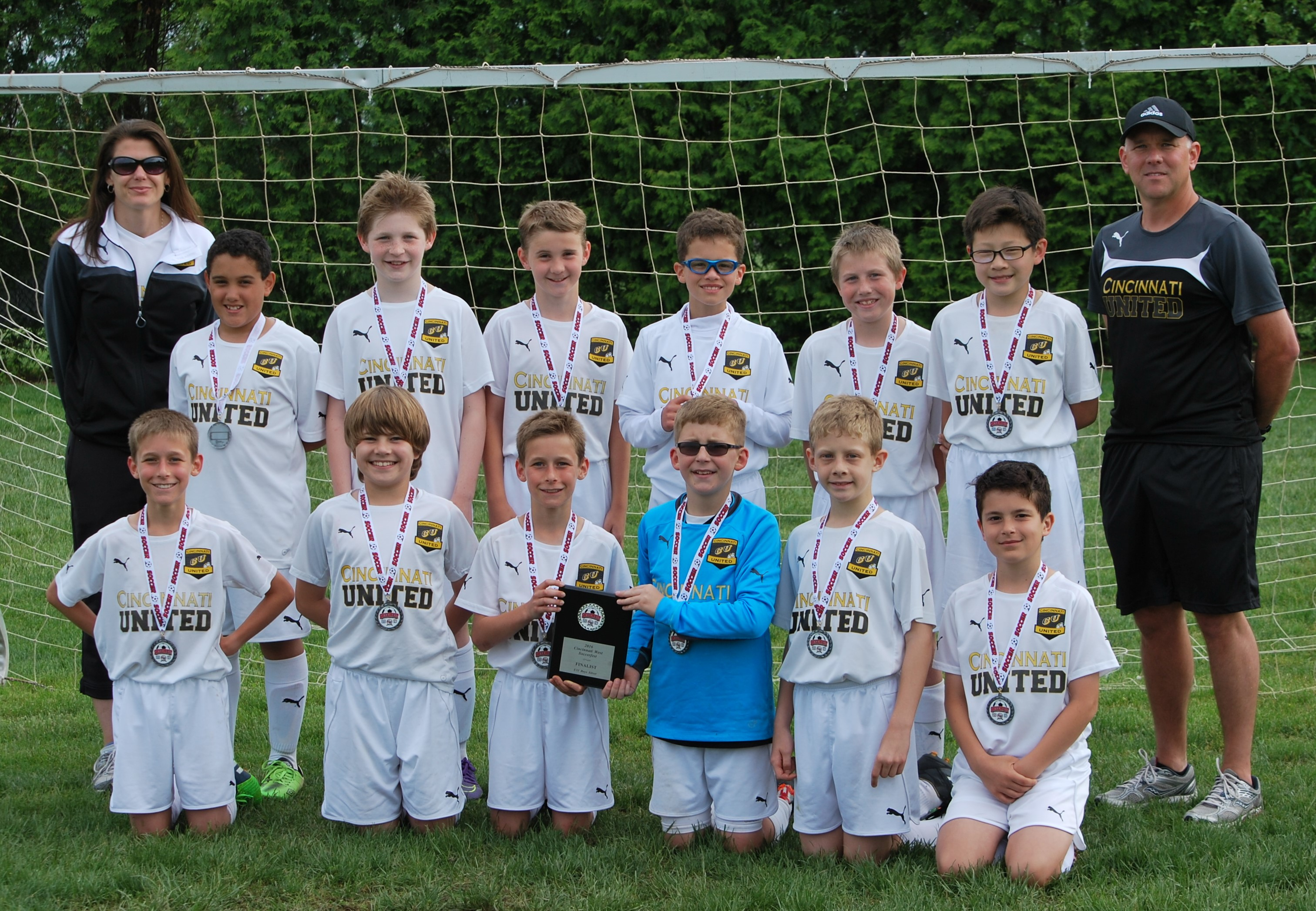 CU Revolution Finalists at CW Soccer Fest (U11 Boys)