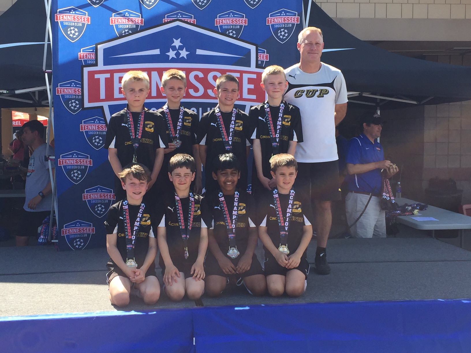 U9 Cruzeiro Boys go undefeated in TN Invitational