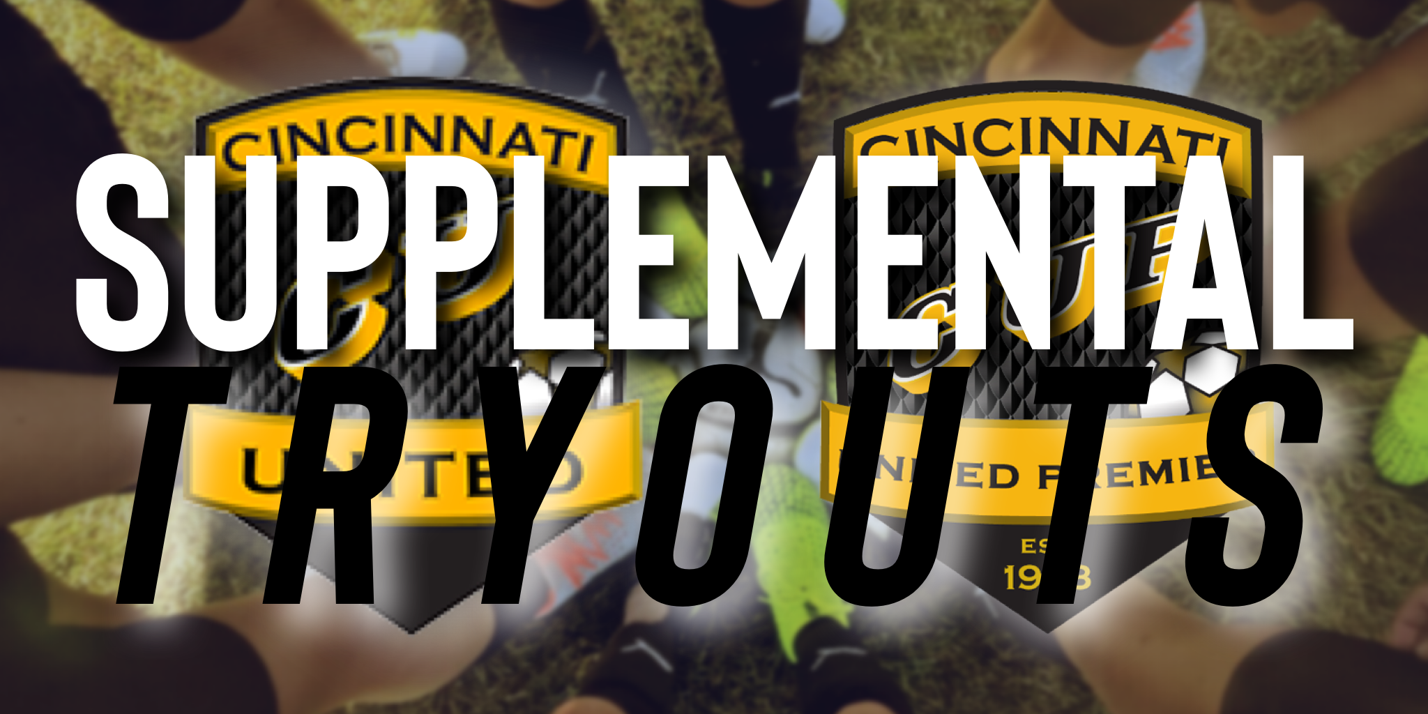 CUP Supplemental Tryouts Coming Up Soon!